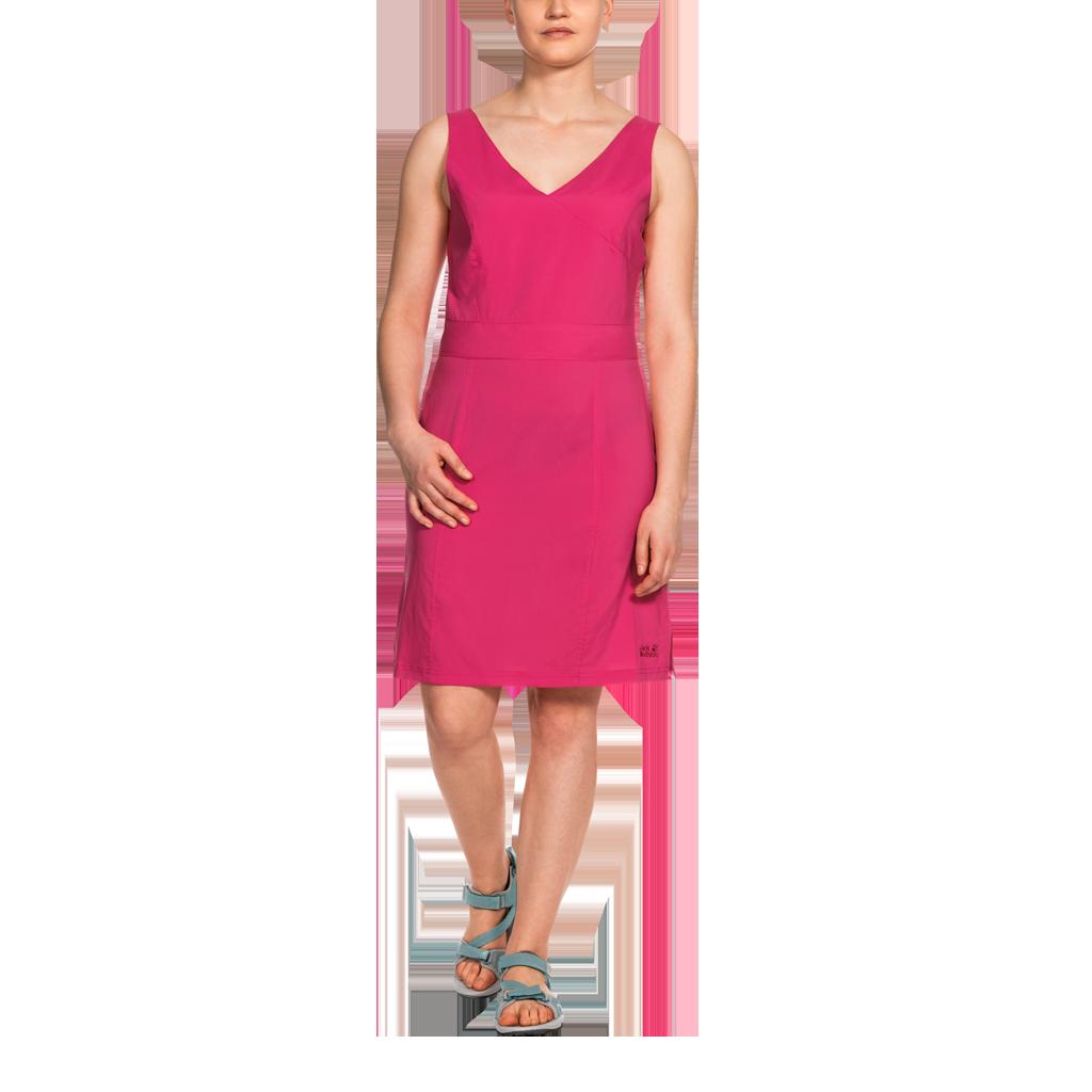 10bc7a027dcc53 Sukienka WAHIA DRESS hot coral | odzież \ damska \ sukienki i spódnice \  sukienki Wyprzedaż Lata | Globtrek.com