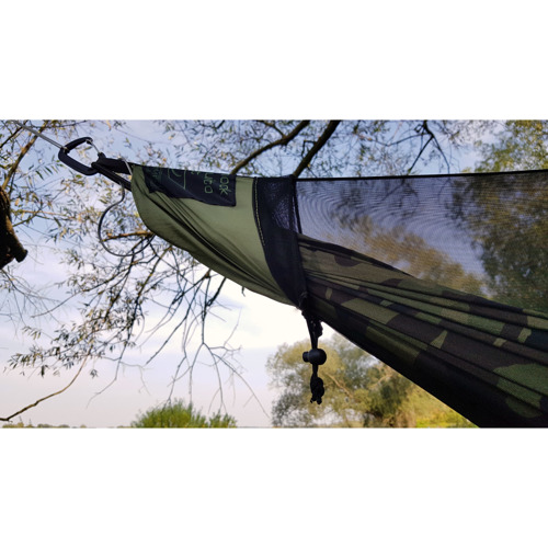 Moskitiera MOSQUITO NET WITH CARABINER ULTRALIGHT